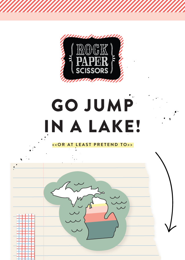Go Jump In A Lake! (or at least pretend to)